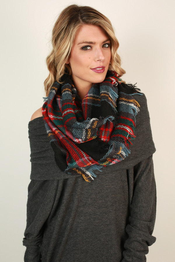 Lasting Impression Infinity Scarf