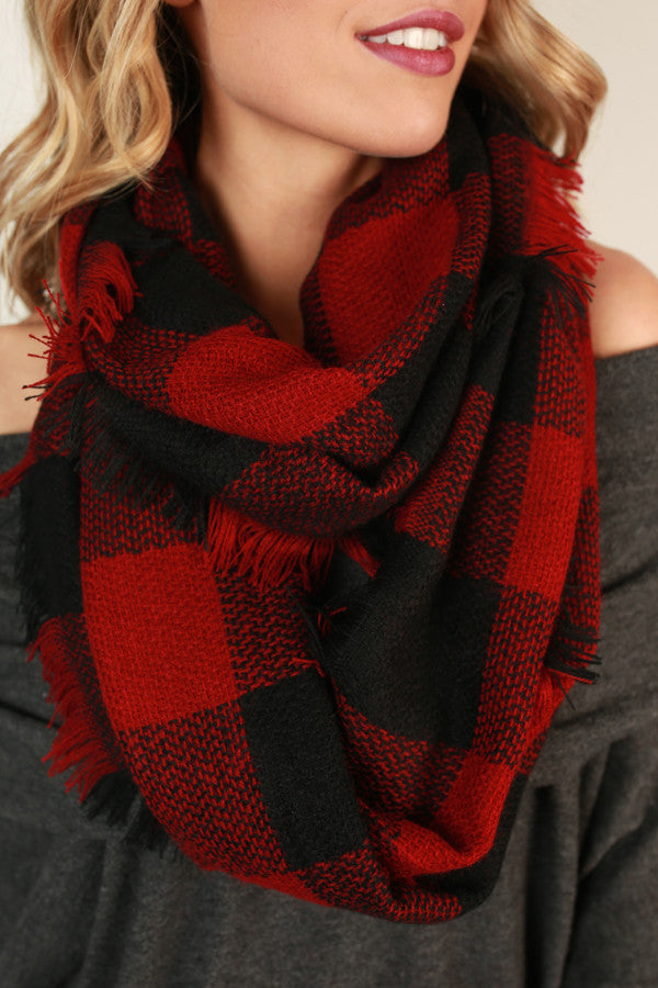 Southern Belle Infinity Scarf