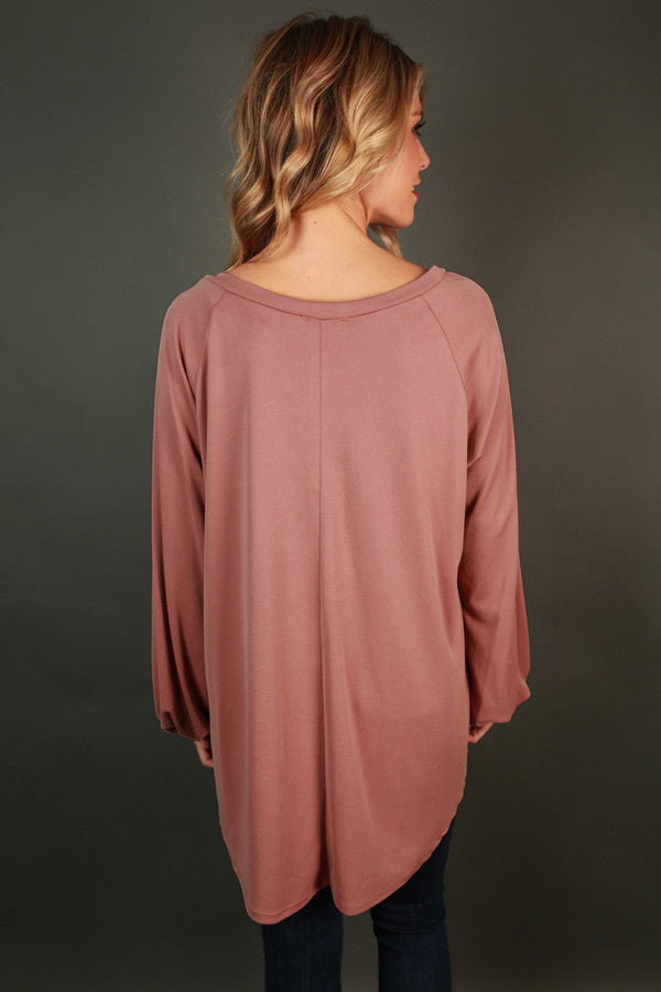 Everyday Favorite Tunic In Blush