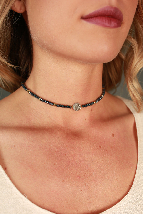 Give You The Moon Choker Necklace