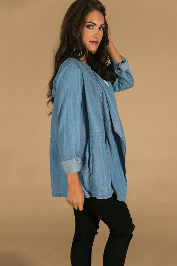 Denim Delight Lightweight Jacket