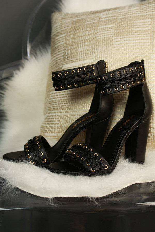 Milan Heel In Black