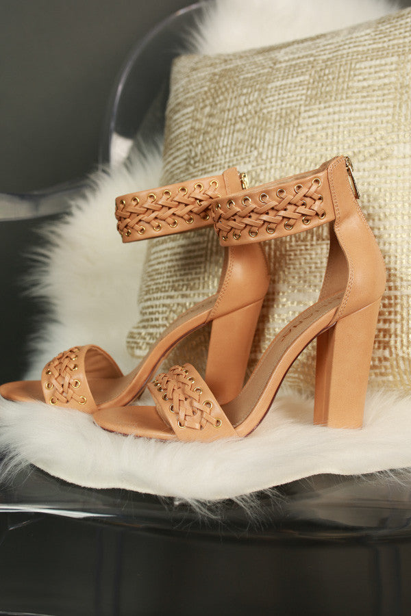 Milan Heel In Tan