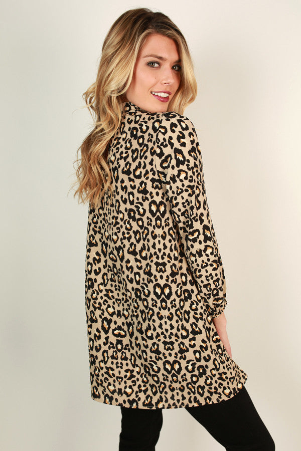 Leopard Love Tunic