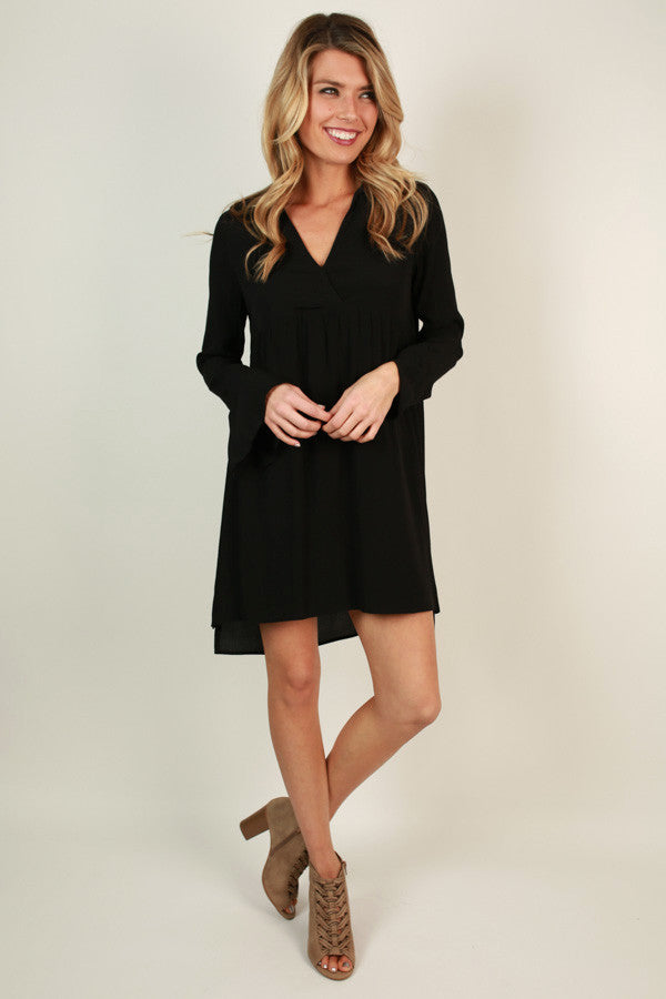 Love Always Babydoll Mini in Black