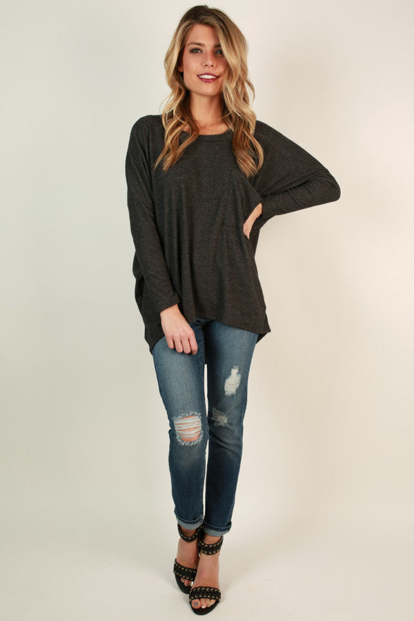 Pocket Perfect Cozy Top