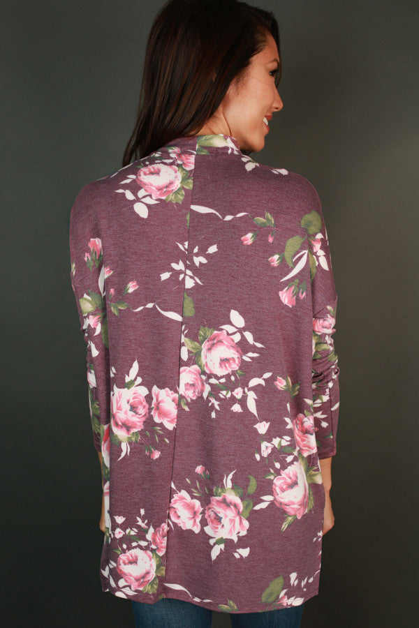Petals Of Pretty Cut Out Top In Vineyard