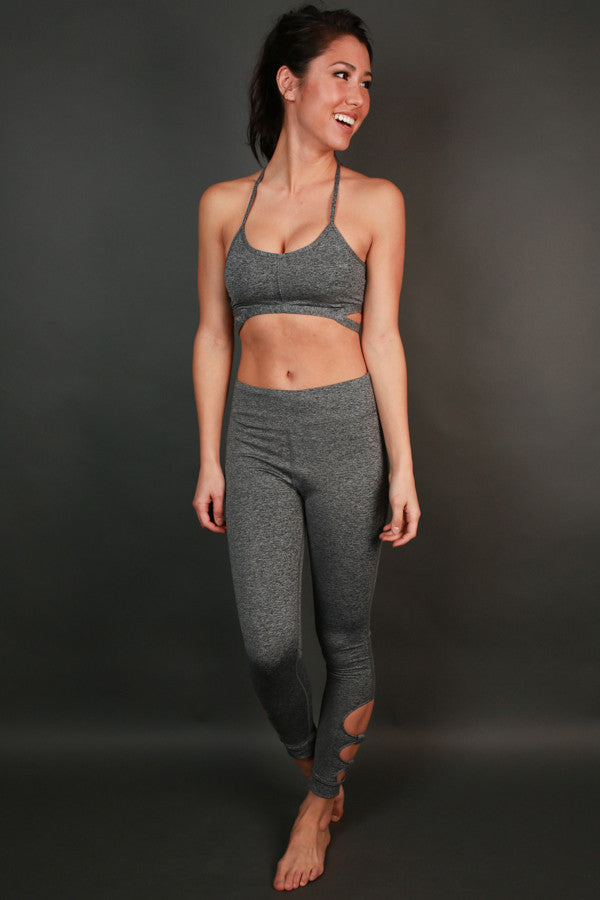 Raise The Bar Legging in Dark Grey