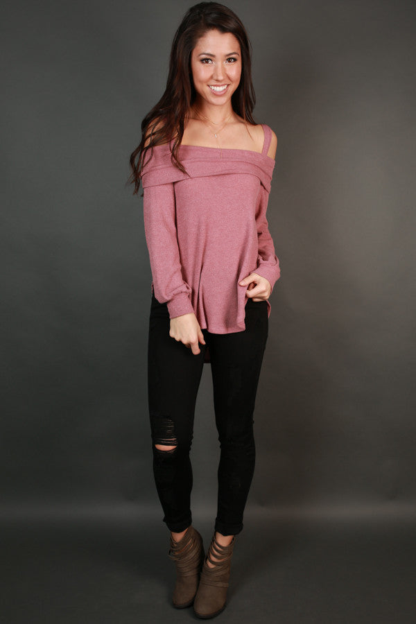 So Into You Top In Blush