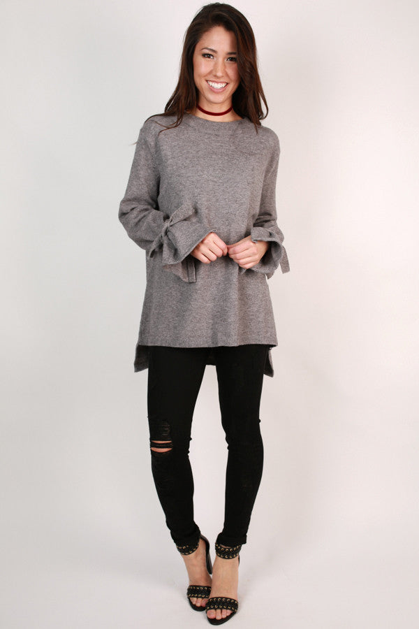 Ever So Lovely Sweater In Fog