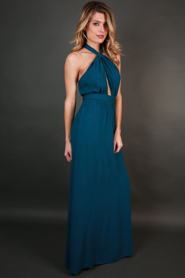 Dressed For Date Night Maxi in Riverside