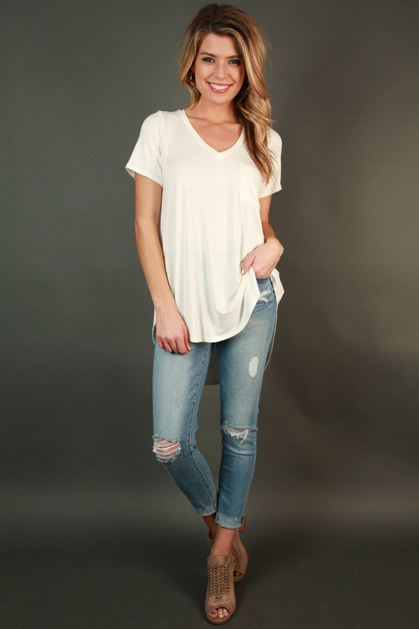 On The Edge High Waist Distressed Skinny
