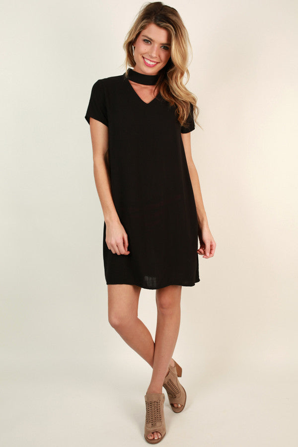 On My Radar Dress in Black