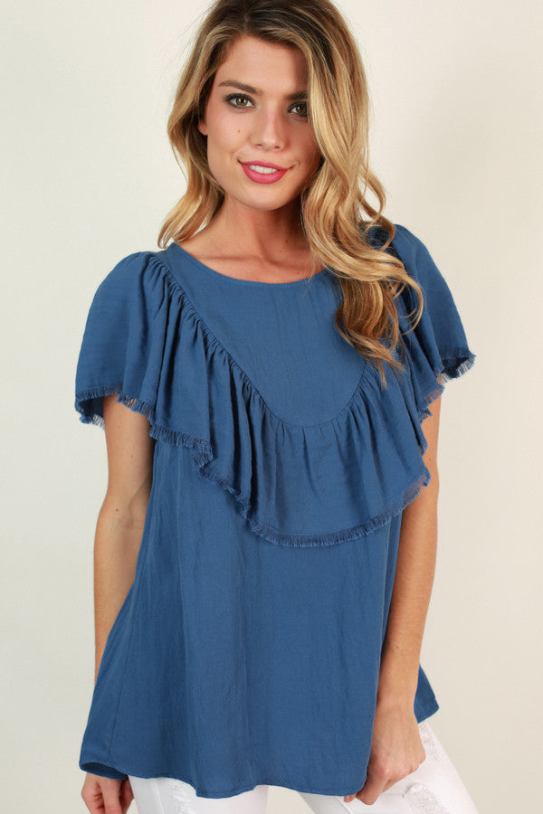 Wild One Ruffle Top