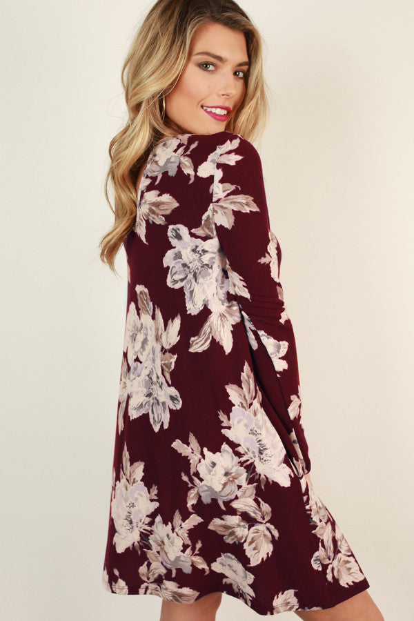 Looking Lovely Floral Dress