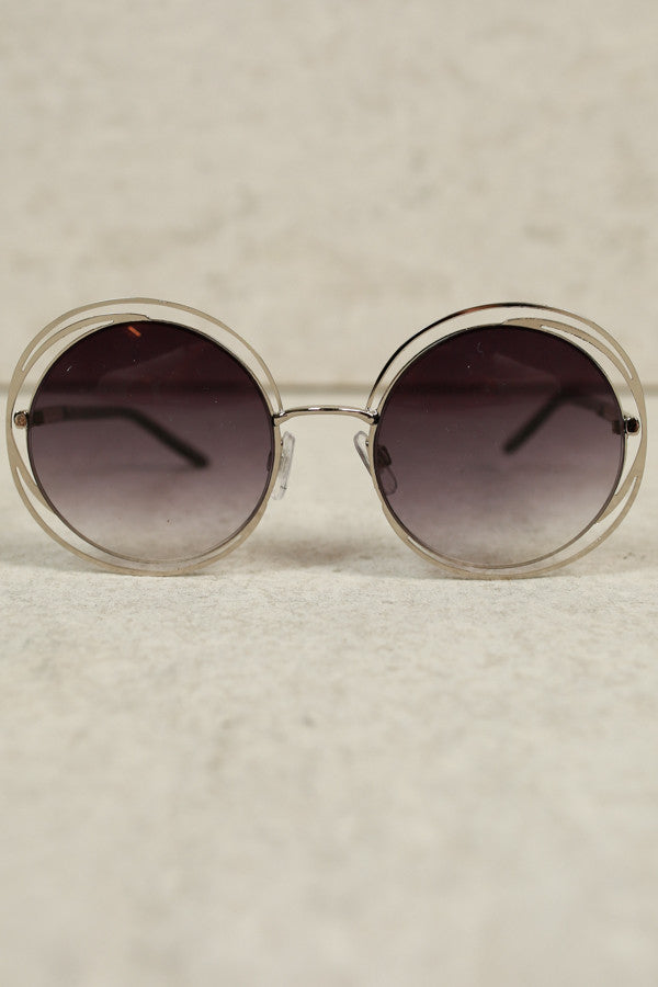 City Chic Shades In Silver