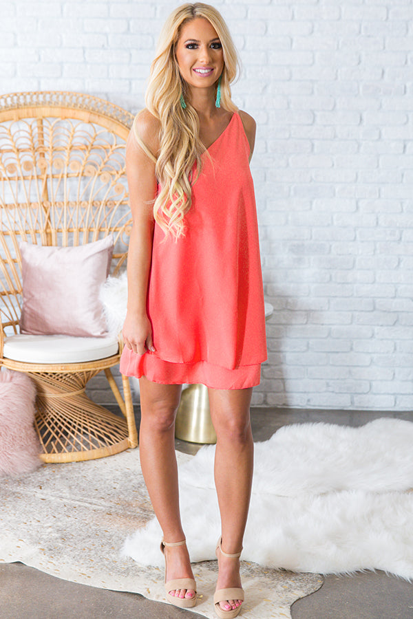 Move With Me Tunic Dress in Calypso