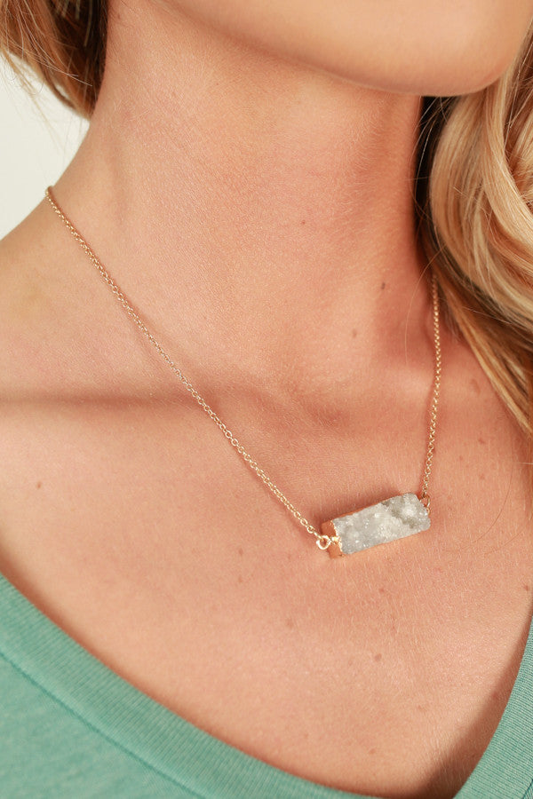 Endless Romance Necklace In White