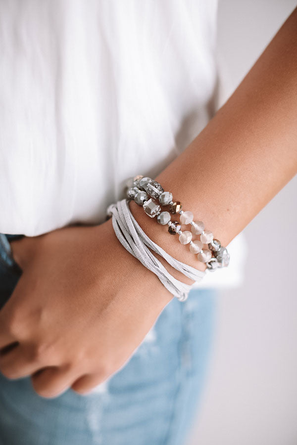 Love and luxe Wrap Bracelet