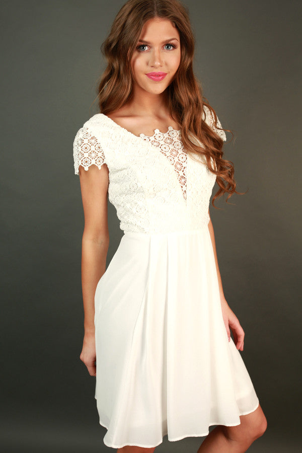 Call Me Yours Crochet Dress
