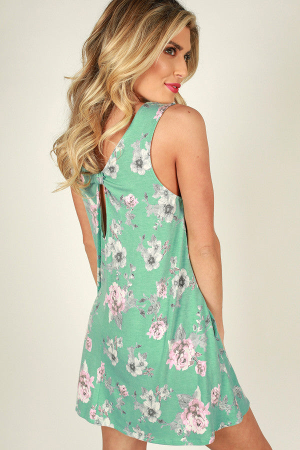 Falling In Love Floral Dress