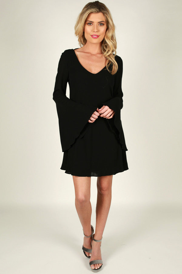 Midnight Romance Shift Dress