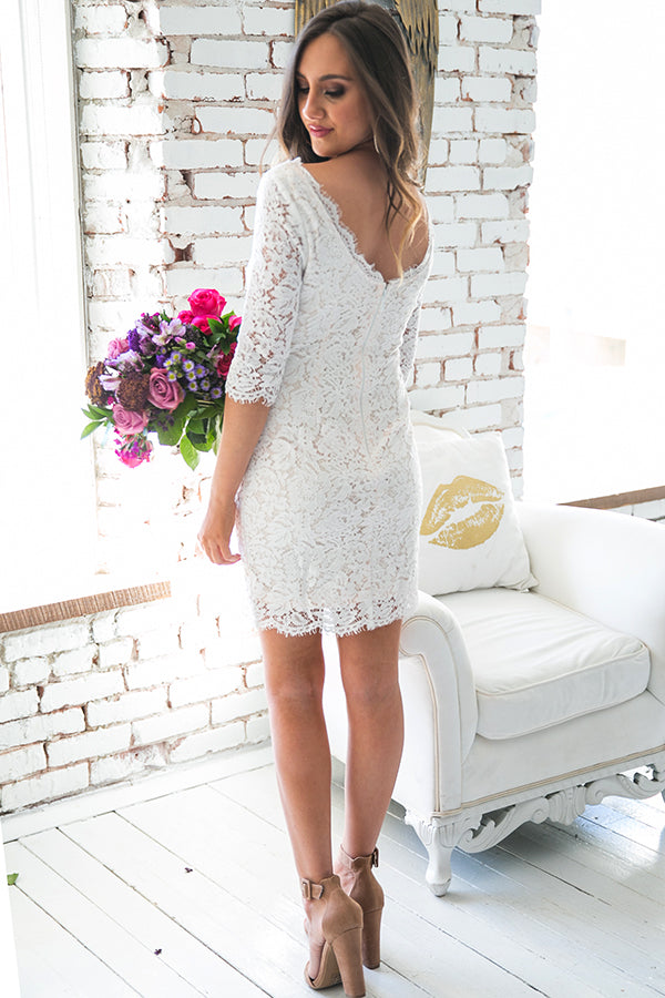 Sweetest One Of All Lace Dress