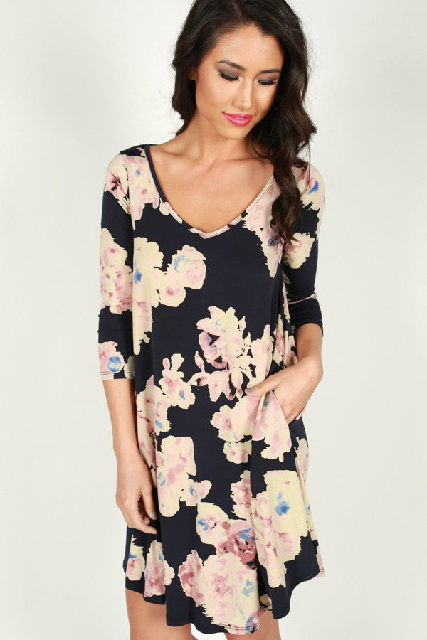Floral Dream Shift Dress