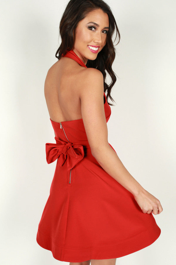 Only For Love Dress in Red