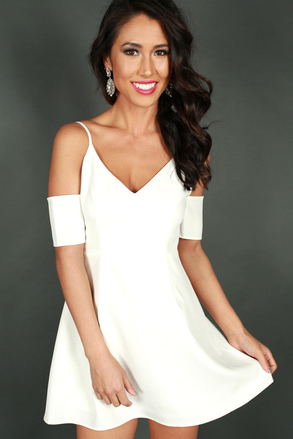 Lady Of Luxury Dress in White