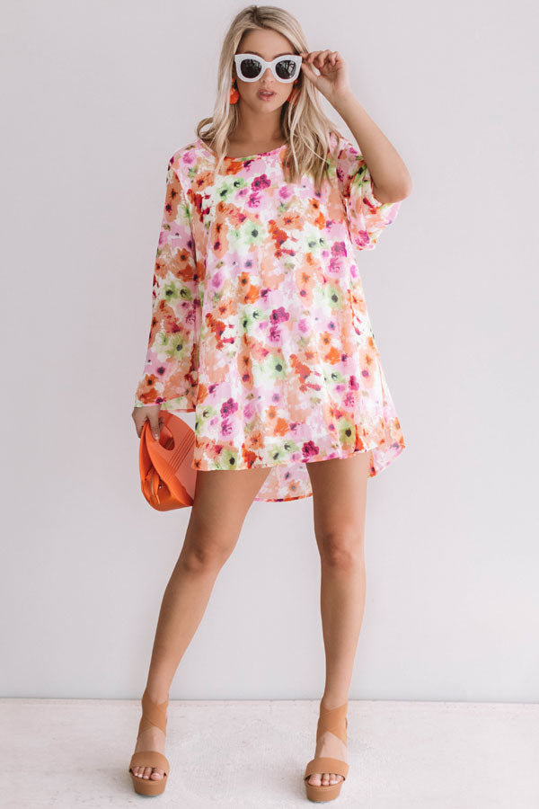 Finding Paradise Shift Dress