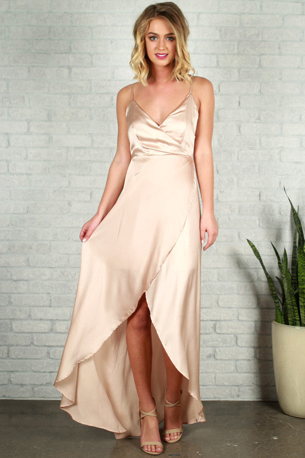 Since You've Been Gone Maxi in Champagne