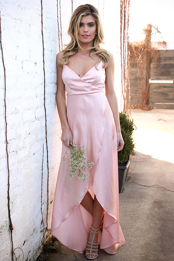 Since You've Been Gone Maxi in Rose Quartz