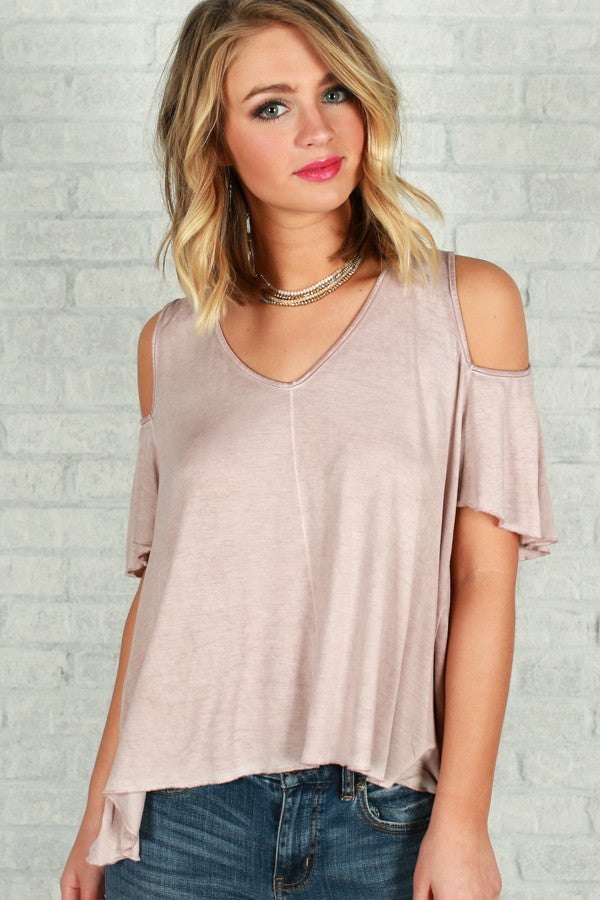 Looking Forward To The Weekend Top in Rose Quartz