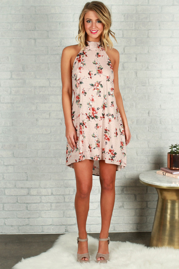 Relentless Love Halter Dress