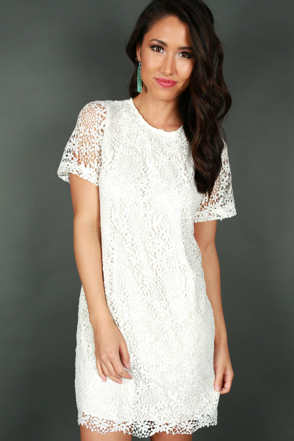 I've Met My Match Crochet Dress