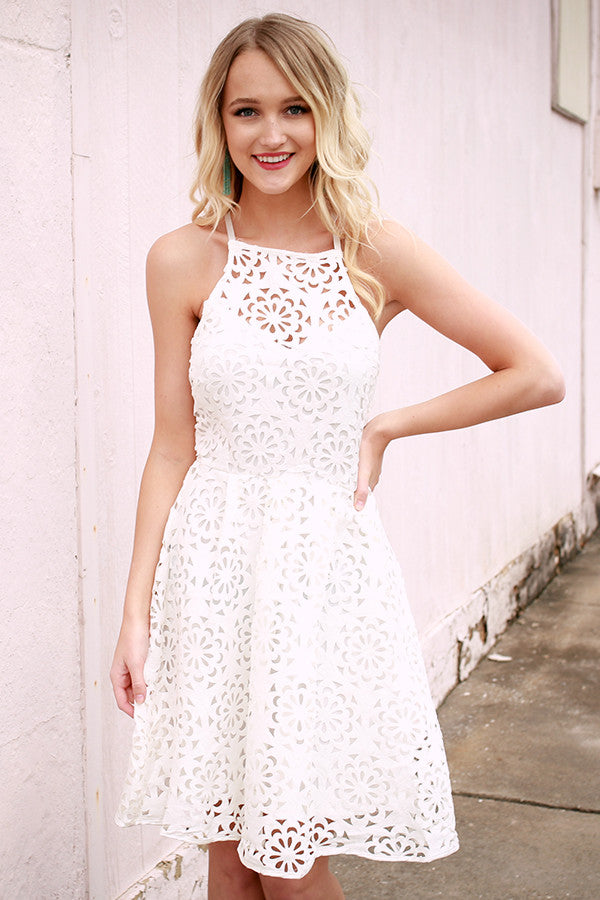 All I Ever Needed Dress in White