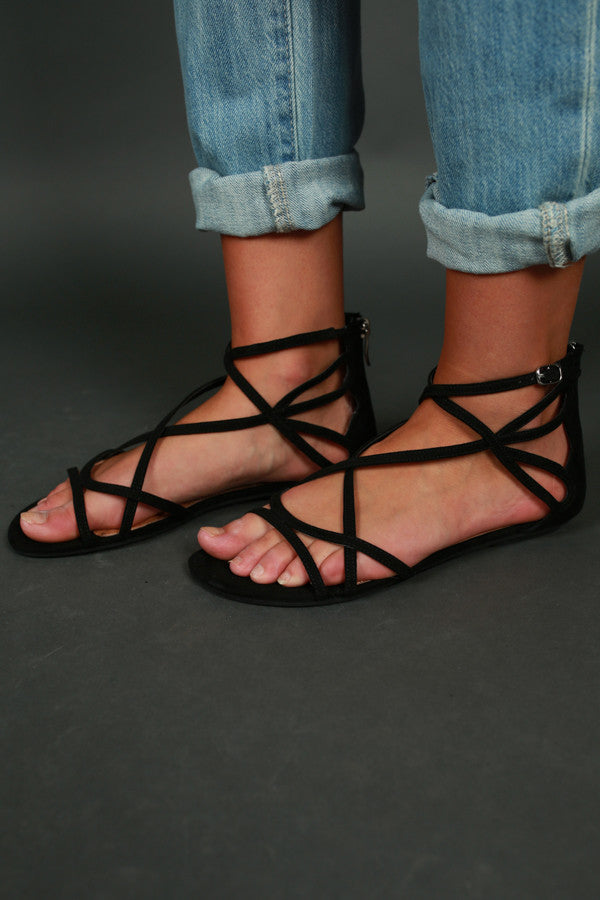 Penny Suede Sandal