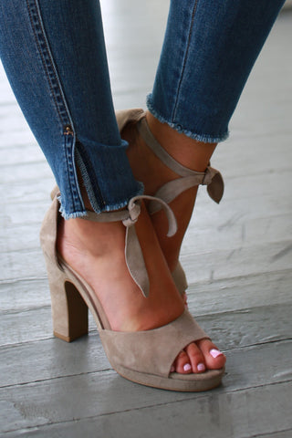 Journey Suede Heel
