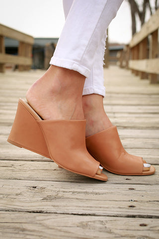 Affirmation Leather Wedge