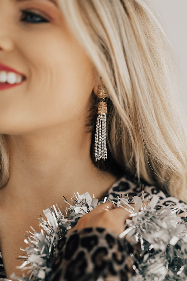 We Make Sense Earrings in Silver