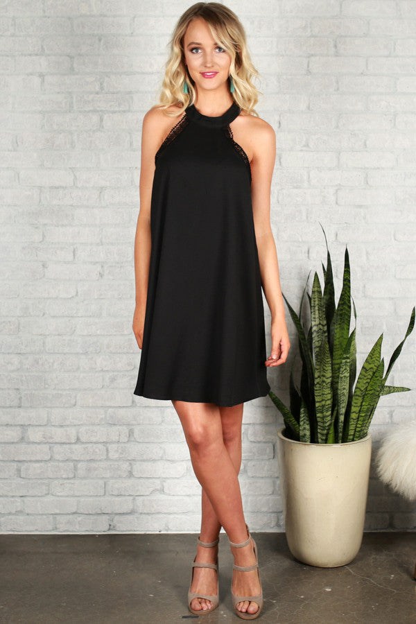 Made With Love Dress in Black