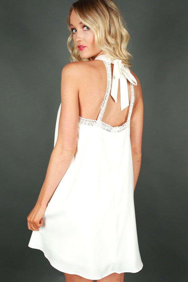 Made With Love Dress in White