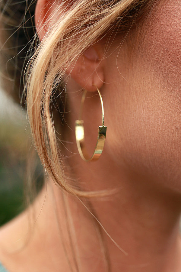 Out On The Town Hoop Earrings