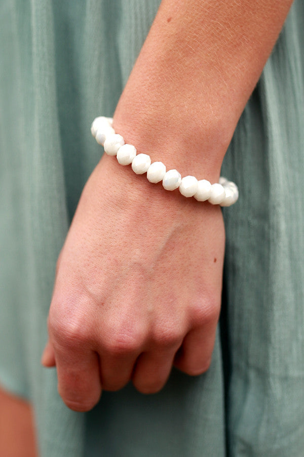 Honey So Sweet Bracelet In White