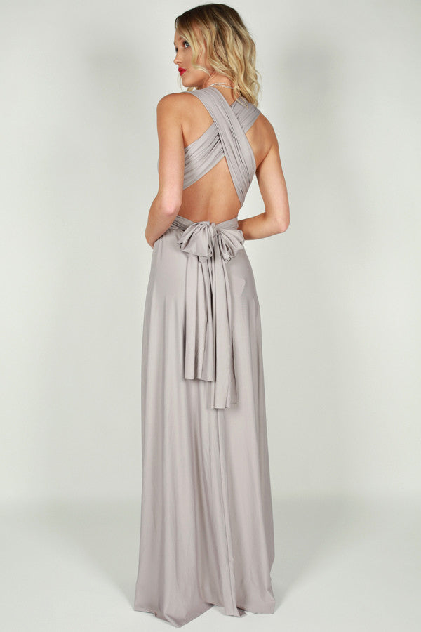 Moment Like This Multi Wrap Maxi Dress