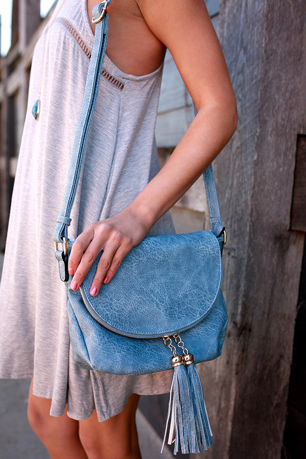 Magic Moments Crossbody in Airy Blue