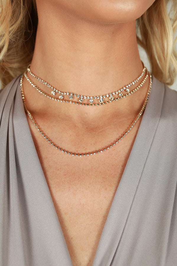 Can't Live Without You Layered Choker