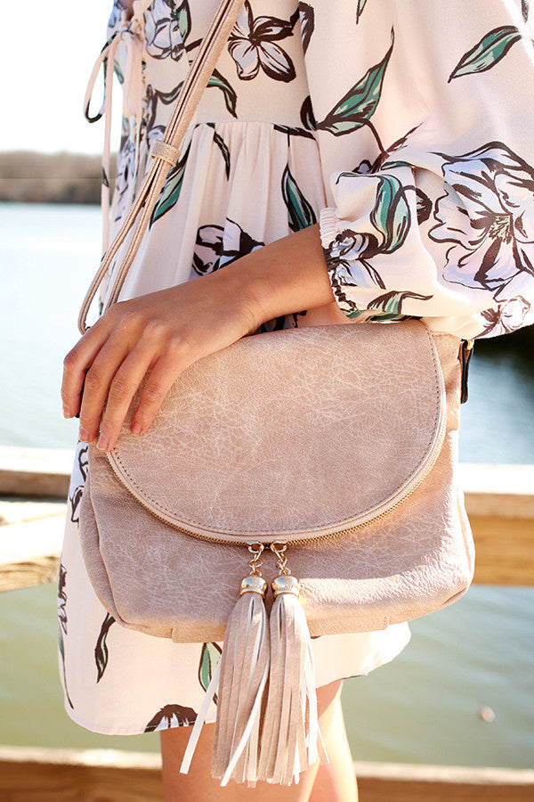 Magic Moments Crossbody in Iced Latte