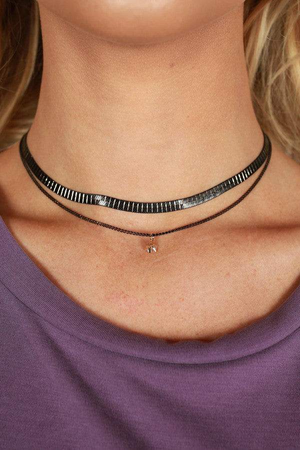 On My Mind Layered Choker